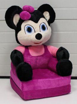 Plüss babafotel - Minnie egér