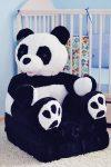 Plüss babafotel - panda