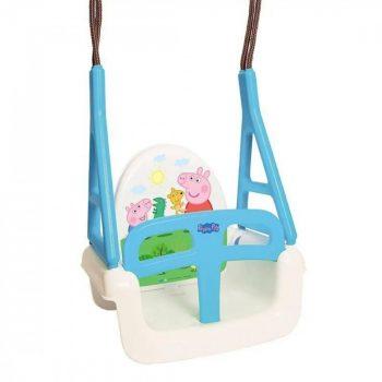 Tega Baby Peppa Pig 3in1 multifunkciós hinta kék