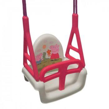 Tega Baby Peppa Pig 3in1 multifunkciós hinta rózsaszín