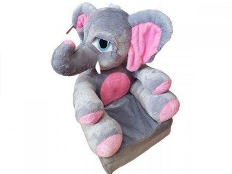 Plüss babafotel - Elefánt