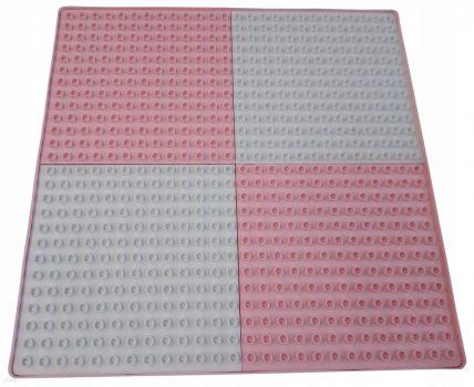 Tega Multifun asztallap Lego Duplo rózsaszín